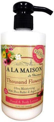 A La Maison Hand and Body Ultra Moisturizing Lotion - Thousand Flowers - 10 oz