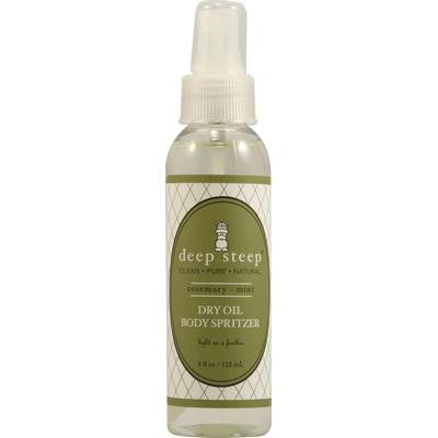 Picture of Deep Steep Dry Oil Body Spritzer - Rosemary Mint - 4 fl oz
