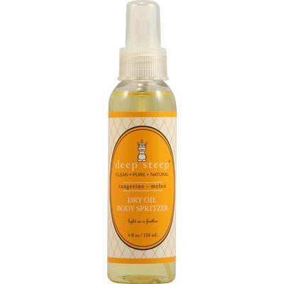 Picture of Deep Steep Dry Oil Body Spritzer Tangerine Melon - 4 fl oz