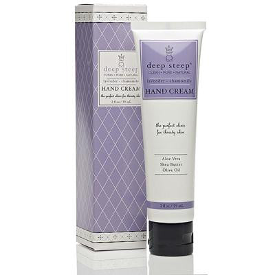 Picture of Deep Steep Hand Cream Lavender Chamomile - 2 fl oz