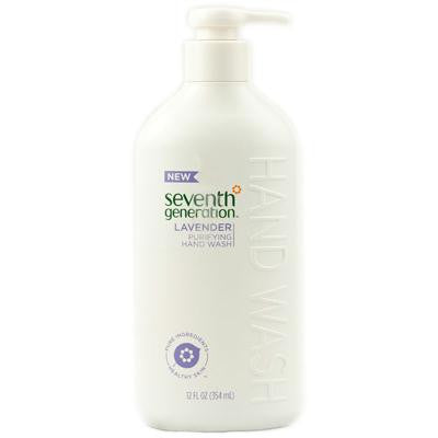 Picture of Seventh Generation Purifying Hand Wash Lavender - 12 fl oz - Case of 3