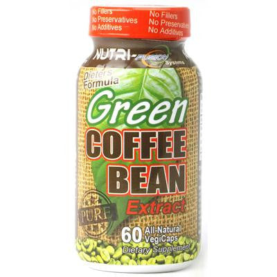 Picture of Nutri-Fusion Green Coffee Bean Extract - 60 Vegetarian Capsules