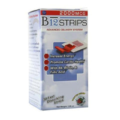Essential Source B12 Strips with B6 and Biotin - 30 Pack
