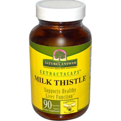 Picture of Nature's Answer ExtractaCaps Milk Thistle - 90 Veggie Caps