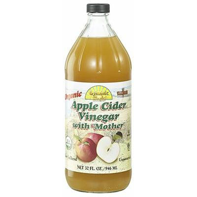 Picture of Dynamic Health Apple Cider Vinegar - Organic with Mother - 32 oz
