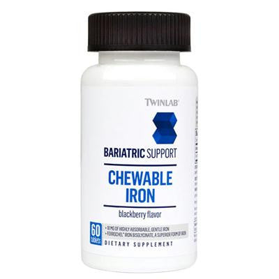 Picture of Twinlab Bariatric Support Iron - 60 Tablets