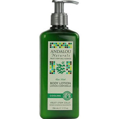 Andalou Naturals Body Lotion Aloe Mint Cooling - 11 fl oz