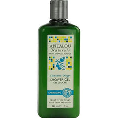 Andalou Naturals Shower Gel Clementine Ginger Energizing - 11 fl oz