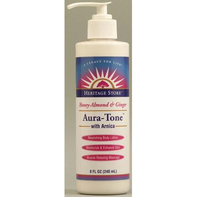 Picture of Heritage Products Aura Tone with Arnica Honey-Almond and Ginger - 8 fl oz