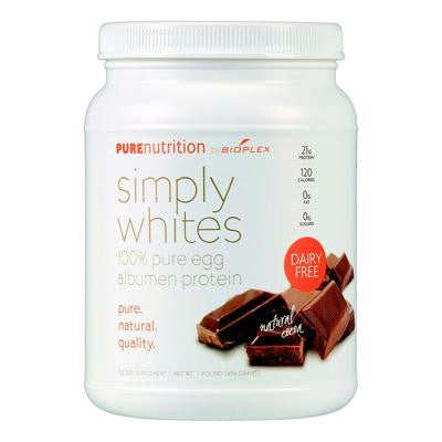 Picture of Pure Nutrition Simply White Powder - Natural Cocoa - 16 oz