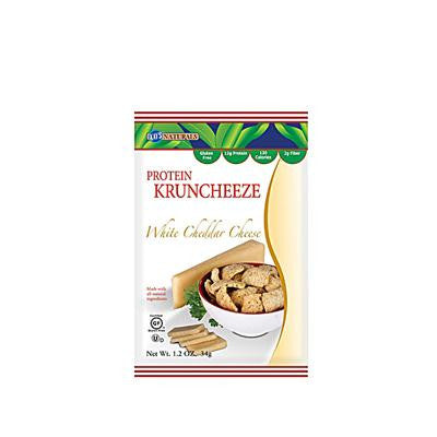 Picture of Kay's Naturals Better Balance Kruncheeze White Cheddar Cheese - 1.2 oz - Case of 6