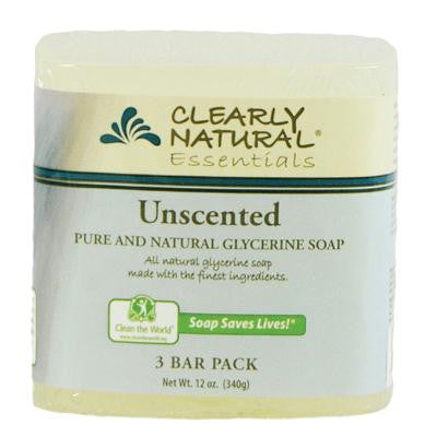 Picture of Clearly Natural Bar Soap - Unscented - 3 Pack - 4 oz