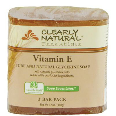 Picture of Clearly Natural Bar Soap - Vitamin E - 3 Pack - 4 oz