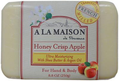 Picture of A La Maison Bar Soap - Honey Crisp Apple - 8.8 oz