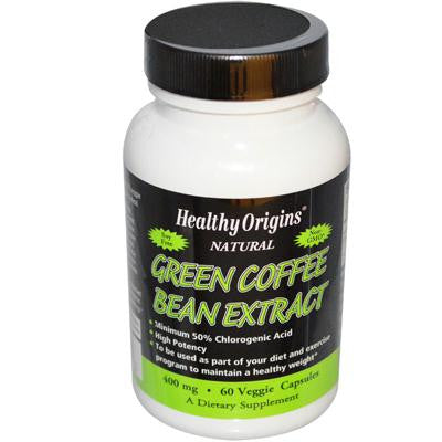 Picture of Healthy Origins Green Coffee Bean Extract 400 mg - 60 Vcaps