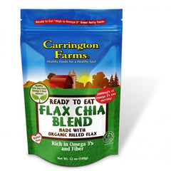 Carrington Farms Organic Flax and Chia Blend - 12 oz - Case of 6