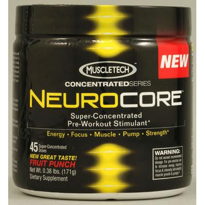 Picture of MuscleTech NeuroCore Fruit Punch - 0.37 lbs