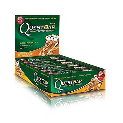 Picture of Quest Nutrition Bar - Peanut Butter Supreme - Case of 12 - 2.12 oz