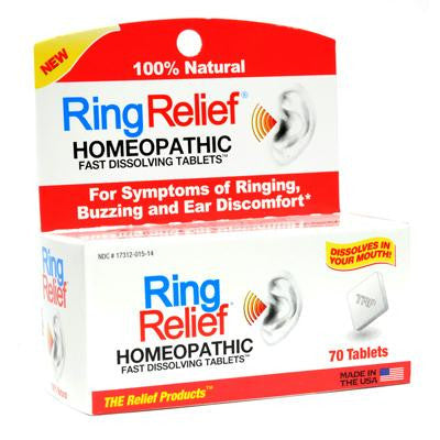 Picture of TRP Ring Relief - 70 Fast Dissolving Tablets