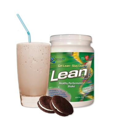 Picture of Nutrition53 Lean1 Shake - Cookies and Cream - 1.3 lbs
