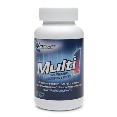 Picture of Nutrition53 Multi1 Daily Performance Multi-Vitamin and Mineral - 120 Caps