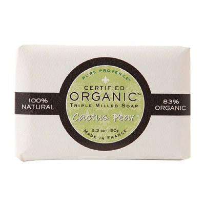 Picture of Pure Provence Bar Soap - Organic Cactus Pear - 5.3 oz