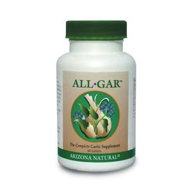 Picture of Arizona Natural Resource All-Gar Complete Garlic Supplement - 600 mg - 60 Tablets