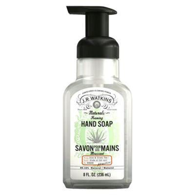 Picture of J.R. Watkins Foaming Hand Soap - Aloe and Green Tea - Case of 6 - 9 fl oz