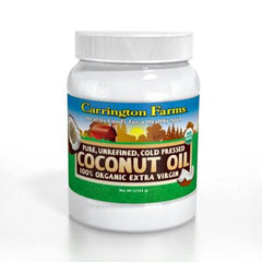 Carrington Farms Coconut Oil - Organic - 54 fl oz - Case of 6