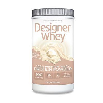 Picture of Designer Whey Protein - White Chocolate - 2.0 lbs