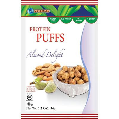 Picture of Kay's Naturals Protein Puffs - Almond Delight - Case of 6 - 1.2 oz