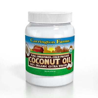Picture of Carrington Farms Coconut Oil - Organic - 54 fl oz