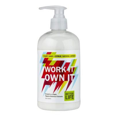 Picture of Better Life Work It Own It Lotion - Sage - 12 fl oz
