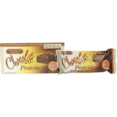 Picture of HealthSmart Chocolite Bar - Chocolate Turtle - 5 oz