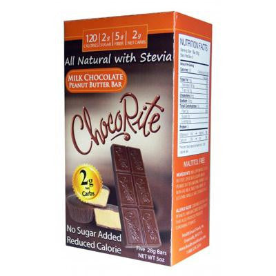 Picture of HealthSmart Chocorite Bar - Milk Chocolate Peanut Butter - 5 oz