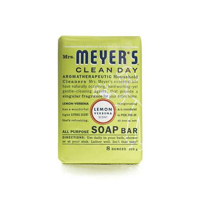 Picture of Mrs. Meyer's Bar Soap - Lemon Verbena - 8 oz