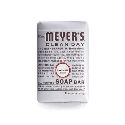 Picture of Mrs. Meyer's Bar Soap - Lavender - 8 oz