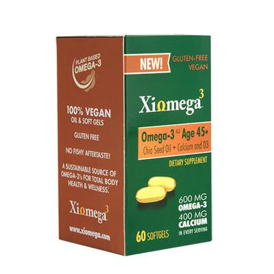 Picture of Xiomega3 Omega3 - Chia Oil - Age 45+ - 60 softgels