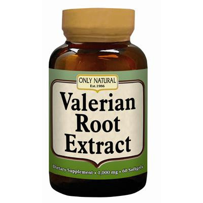 Picture of Only Natural Valerian Root Extract - 60 softgels