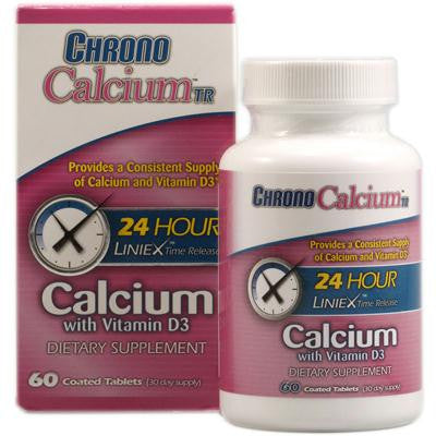Picture of Chrono Health Care Chrono Calcium TR - 60 Coated tablets