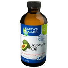 Earth's Care 100% Pure and Natural Avocado Oil - 8 fl oz