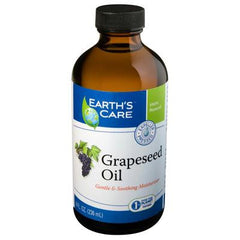 Earth's Care 100% Pure Grapeseed Oil - 8 fl oz