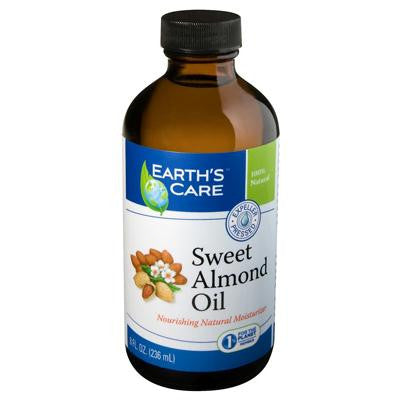 Picture of Earth's Care 100% Pure Sweet Almond Oil - 8 fl oz