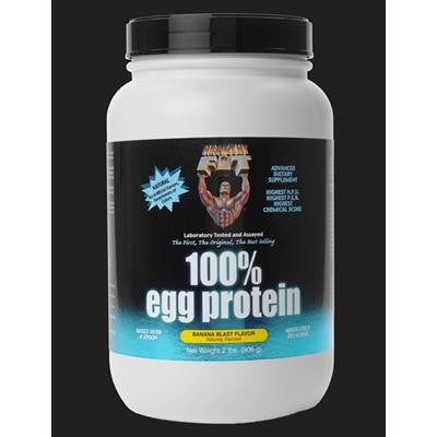 Picture of Healthy 'N Fit 100 Percent Egg Protein - Banana - 2 lbs