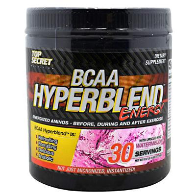 Picture of Top Secret Nutrition BCAA Hyperblend Energy - Watermelon - 5.92 oz