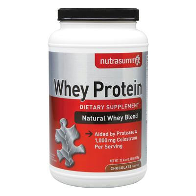 Picture of Nutrasumma Whey Protein - Chocolate - 2.04 lb