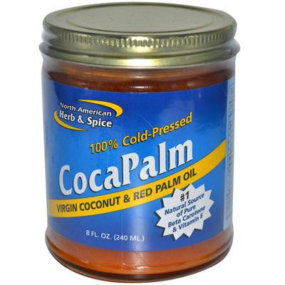Picture of North American Herb and Spice Coconut and Red Palm Oil - 8 fl oz