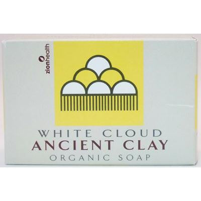 Picture of Zion Health Clay Bar Soap - White Cloud - 6 oz