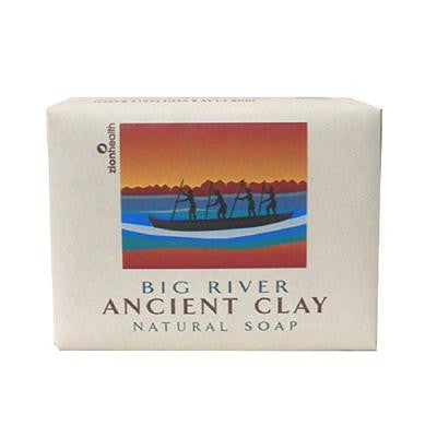 Picture of Zion Health Clay Bar Soap - Big River - 10.5 oz