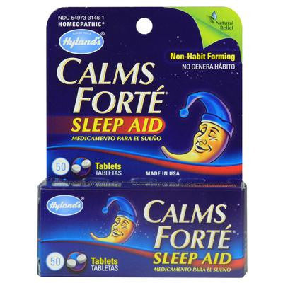 Picture of Hylands Homeopathic Calms Forte - 50 Tablets